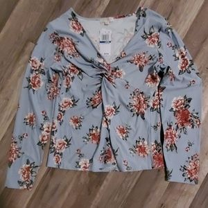 Ultra flirt Dress long sleeve shirt